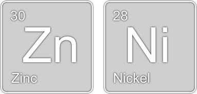 Zinc and Nickel